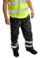 High Visibility Waterproof Overtrousers - 2 PACK